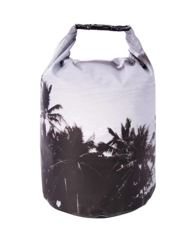 Dry Bag 10Ltr - Monochrome palm