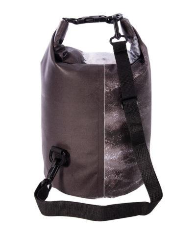 Dry Bag 10Ltr - Monochrome waves