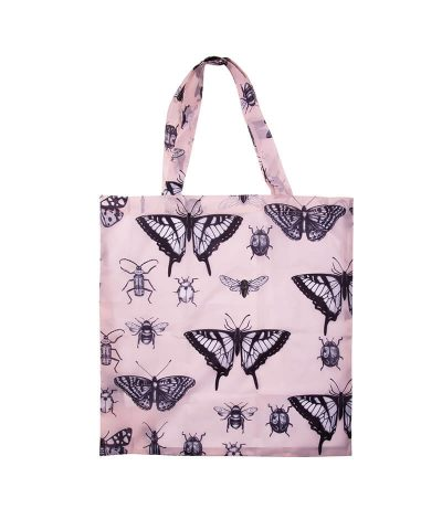 Foldable Shopper Bag - Insects