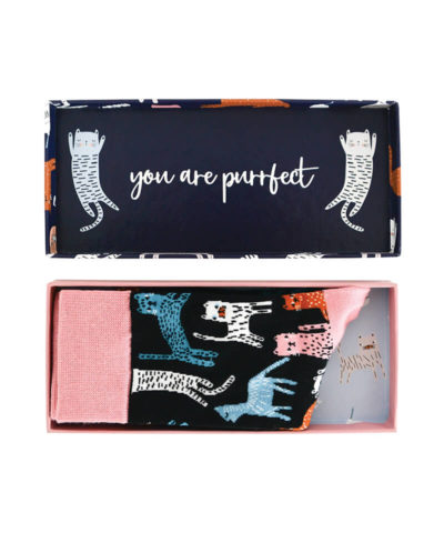 Boxed Socks - You Had Me At Meow