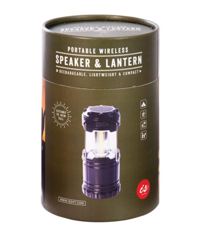 Portable Wireless Speaker and Lantern
