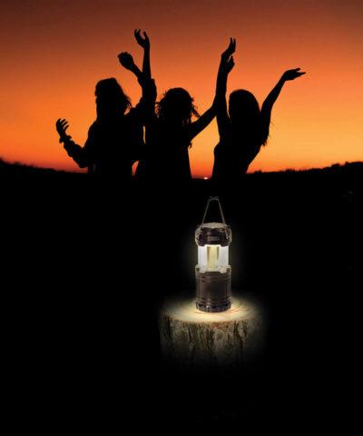Portable Wireless Speaker and Lantern
