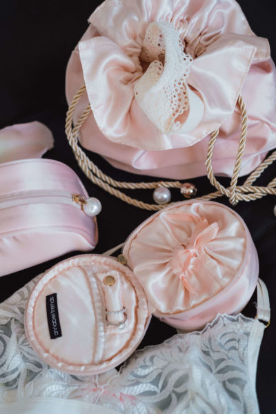 Satin Jewellery Pouch