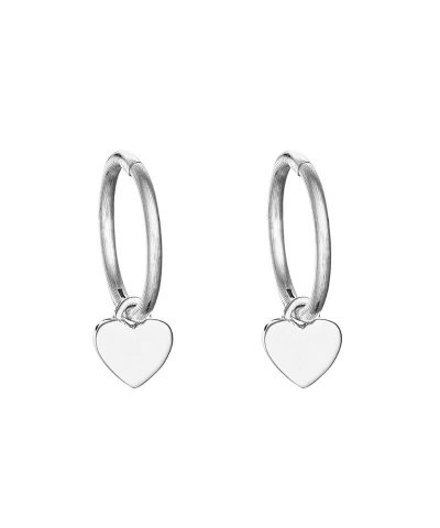 LOVE INFINITY HOOP EARRINGS