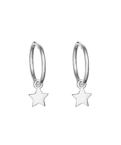 WISH INFINITY HOOP EARRINGS