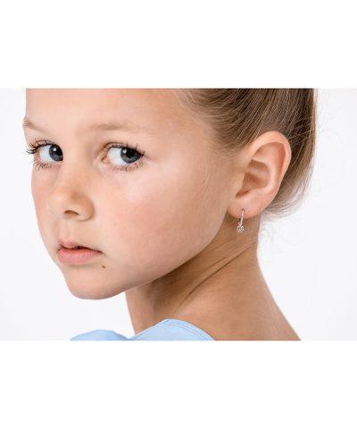 DAISY INFINITY HOOP EARRINGS
