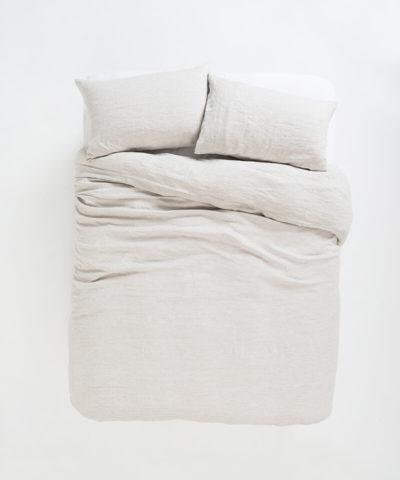 Sove Stripe Linen Duvet Cover