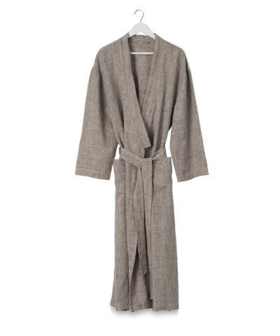 Bella Linen Dressing Gown