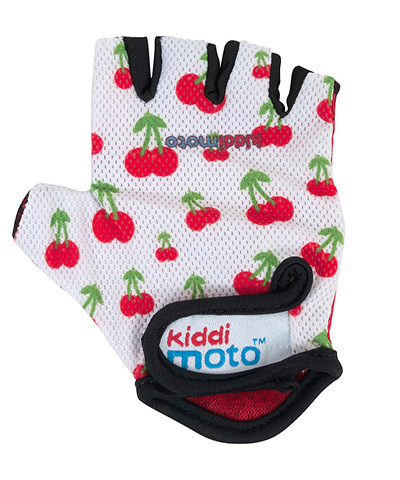 Kiddimoto Cherry Cycling Gloves