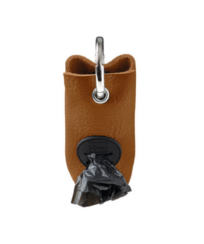 Yuna Leather Poop Bag Dispenser