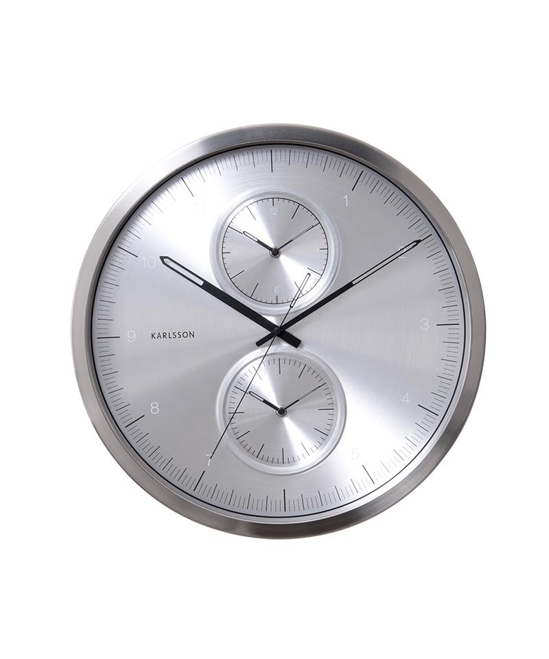 Karlsson Multiple Time Clock World Time Wall Clocks