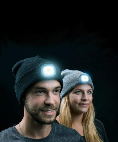 LED Headlamp Beanie