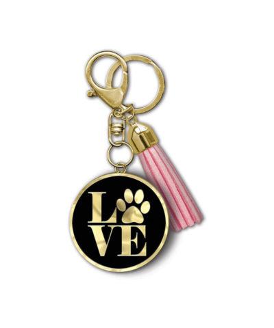 Love Paw keychain