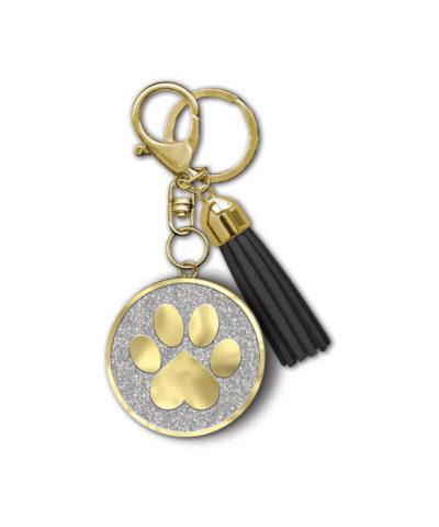 Heart Paw Keychain