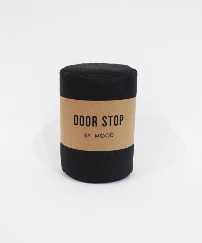 Leather Black Door Stop