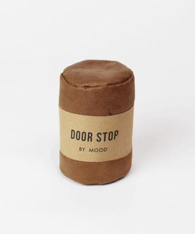 Tan Leather Door Stop