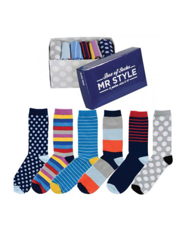 Mr Style Mens Socks Box