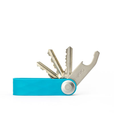 orbitkey active aqua, showing keys and bottle opener