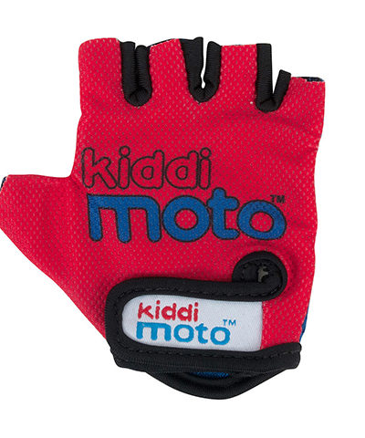 Kiddimoto Red Cycling Gloves