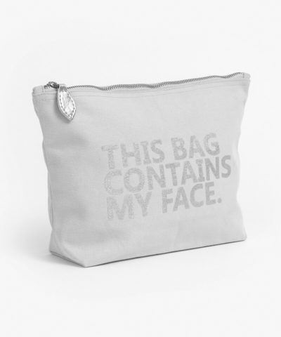 Cosmetic Bag - Contains My Face