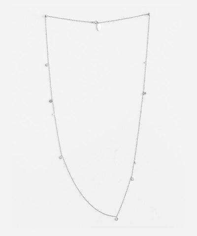 Long Disc Necklace