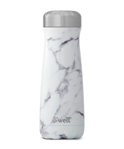 S'Well Traveller Elements Collection-White Marble 590ml