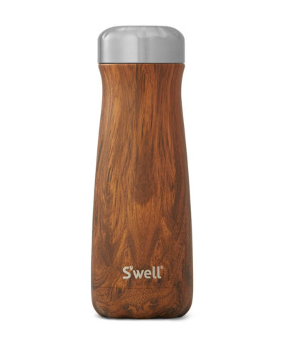 S'Well Traveller Wood Collection-Teakwood 590ml