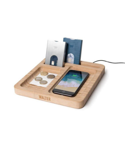 Walter Bamboo Wireless Charging Dock