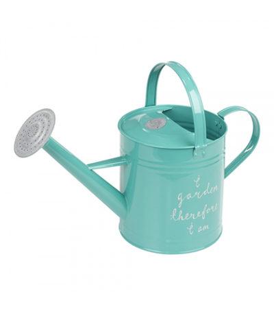 Watering Can Aqua