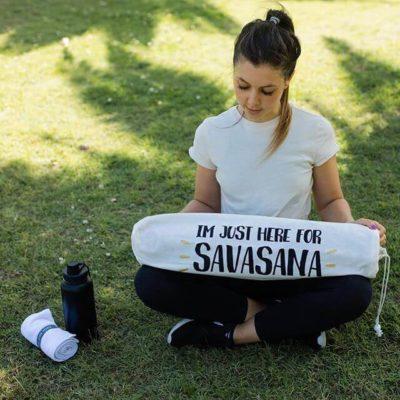 Yoga Mat Bag - Savasana