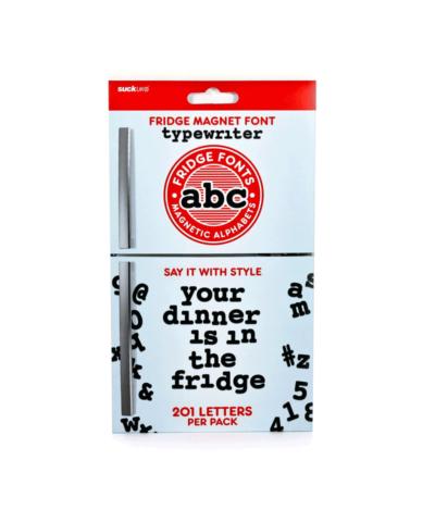 Fridge Magnet Font