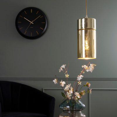 Karlsson Globe Wall Clock - Black