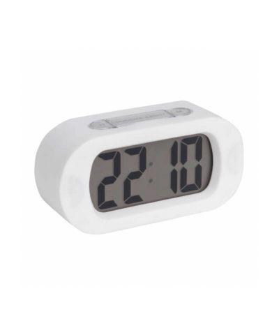 Karlsson Gummy Alarm Clock - White