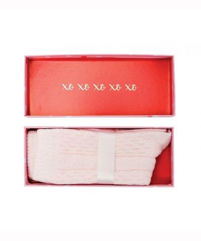 Boxed Socks - Hugs and Kisses