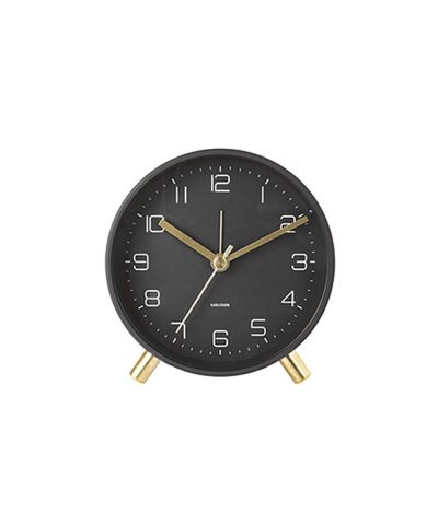 Lofty Alarm Clock-Black