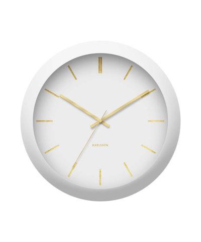 Karlsson Globe Wall Clock - White