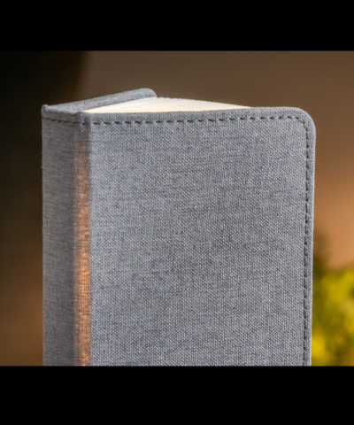 LED Smart Linen Fabric Book Light