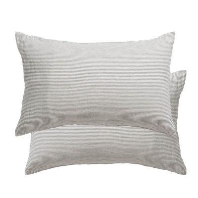 Sove Stripe Linen Pillowcase