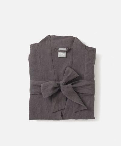 Beau Linen Dressing Gown